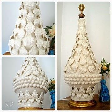 Tienda de lámparas manises. venta de lampara manises sin rotos en perfecto estado y de gran tamaño