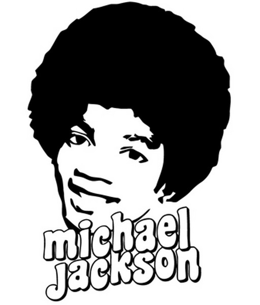 Desenhos do Michael Jackson para Colorir