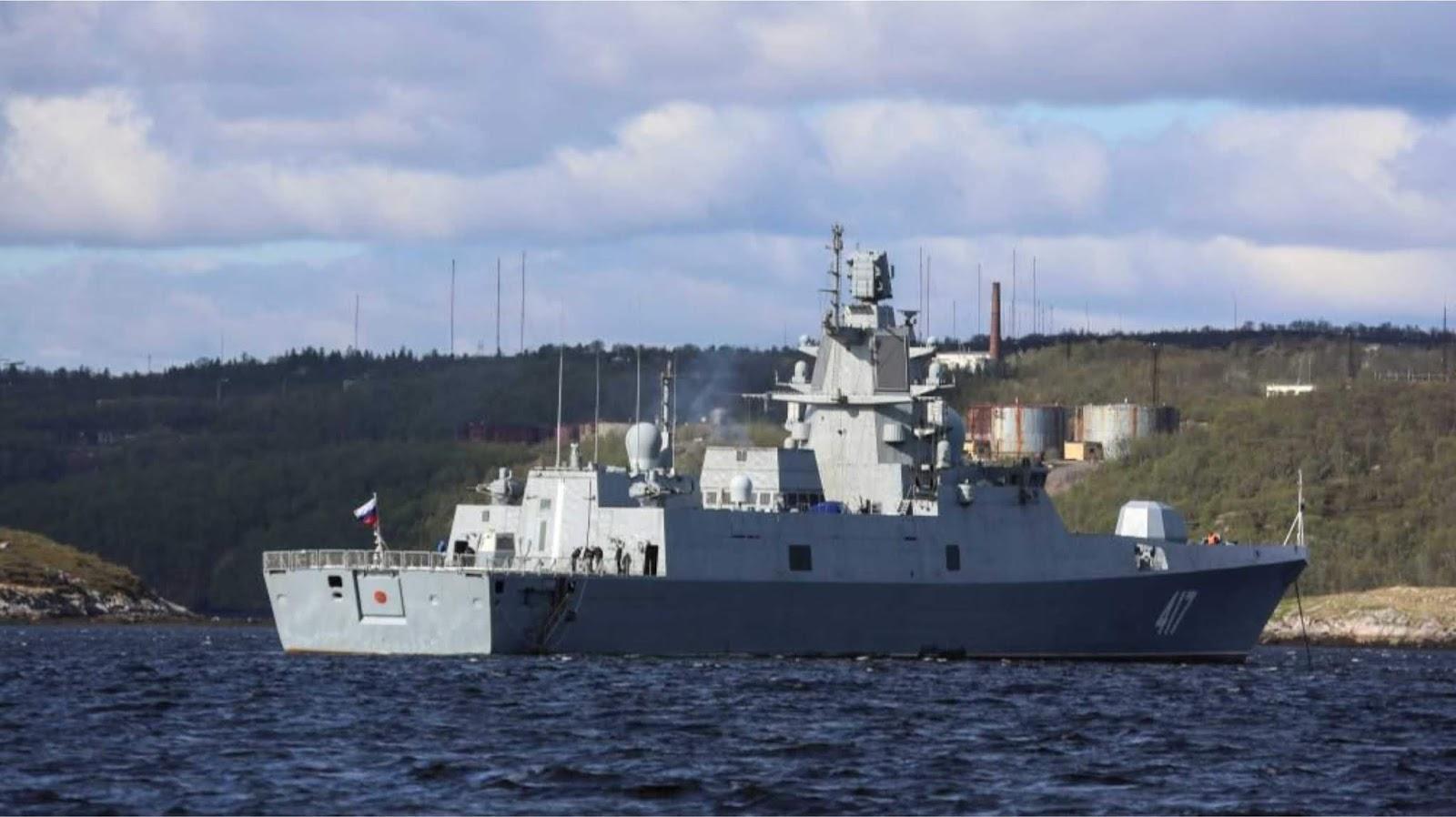 Rusia menyelesaikan tes negara kompleks anti-pesawat kapal Polyment-Redut