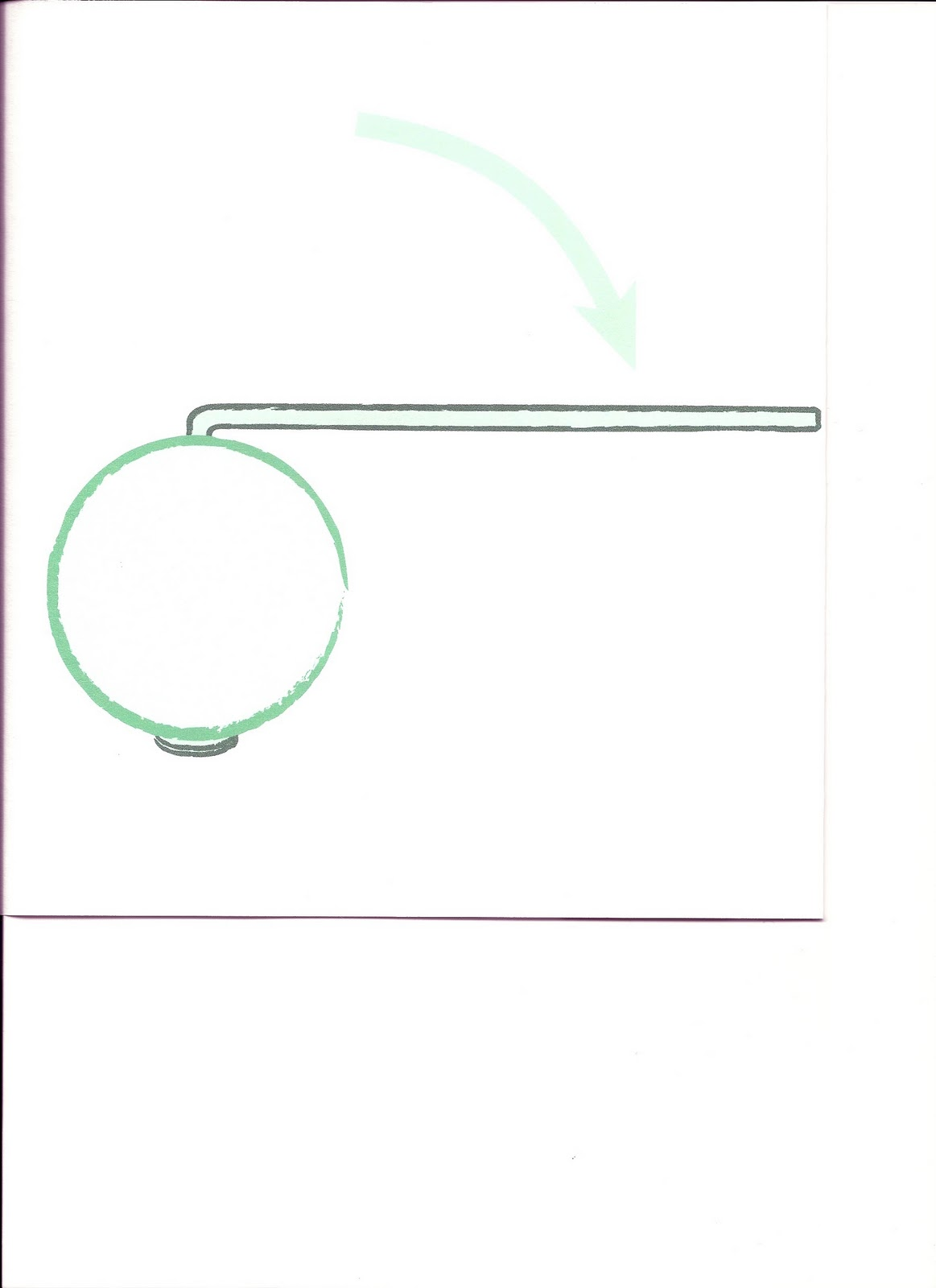 2 bend the wire above the bead at a right angle leaving an arm of about 2 cm  [ 1163 x 1600 Pixel ]