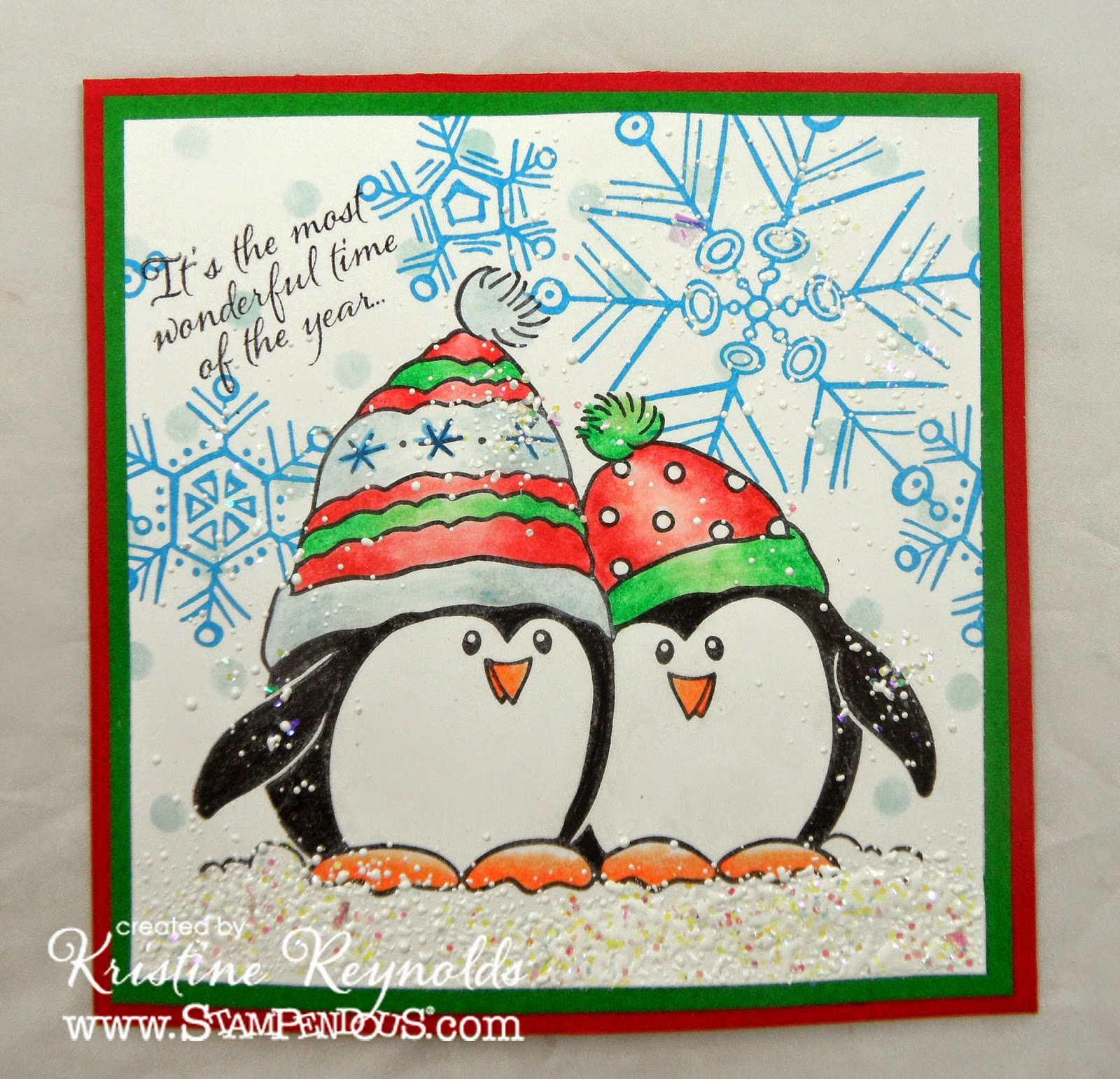 Stamping & Scrapping In California: More CAS Christmas