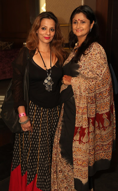 Artist Sunayana Malhotra with Friend