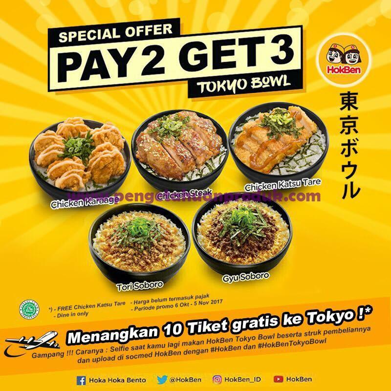 Promo HOKBEN Paket Baru Gratis Chicken Katsu Kare Hingga 5