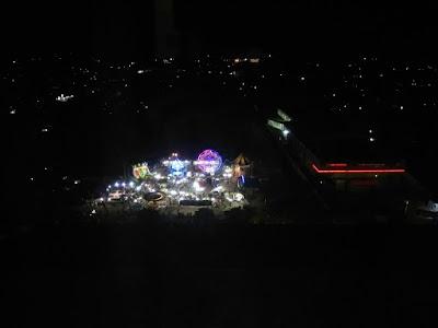 Pemandangan dari kamar yang menghadap ke Kota Samarinda