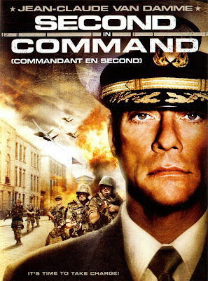 Poster Of Second in Command In Dual Audio Hindi English 300MB Compressed Small Size Pc Movie Free Download Only At worldfree4u.com