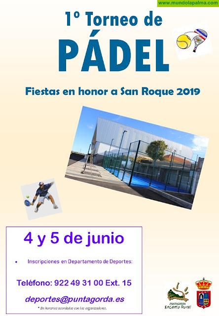 I Torneo de Padel Fiestas en Honor a San Roque en Puntagorda