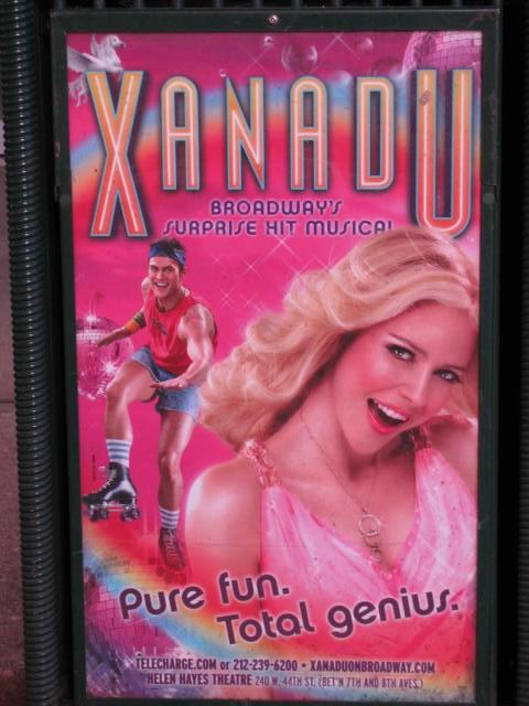 Xanadu 2007 Broadway musical movieloversreviews.filminspector.com