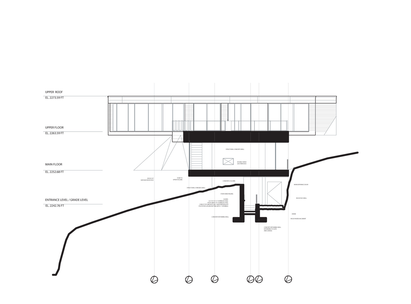 Steep Slope House Design, Canada: Most Beautiful Houses in