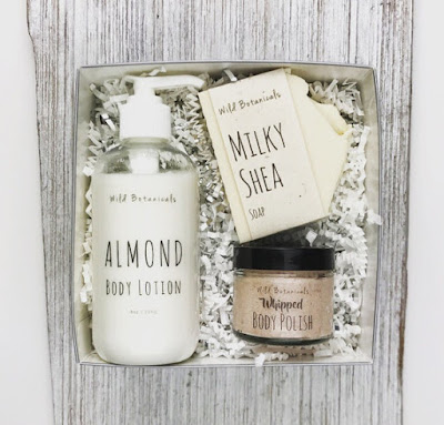 choose your own scent soap, lotion & body polish gift set for Mom