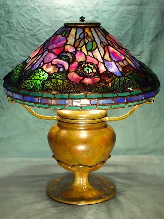 Century Studios Lamp Of The Week 16 Quot Poppy On Flower Petal Base