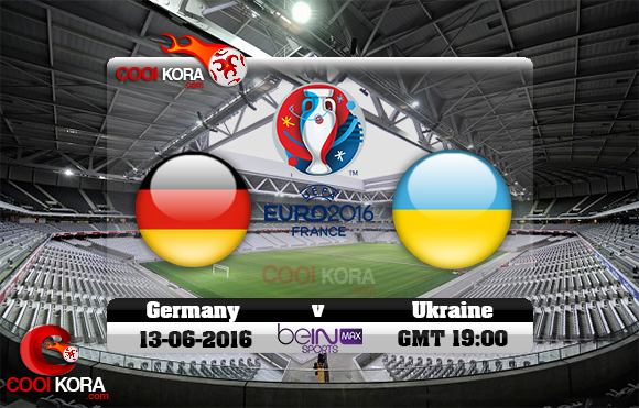 مشاهدة مباراة ألمانيا وأوكرانيا اليوم 12-6-2016 بي أن ماكس يورو 2016