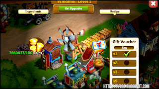 fv2ce, food items, gift voucher, gold coins