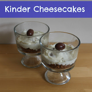 Kinder Cheesecakes