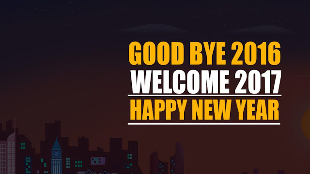 Welcome 2017 Bye Bye 2016 Status Images