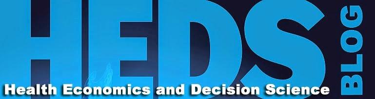 Health Economics and Decision Science (HEDS) Blog: CEAs