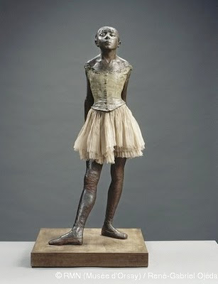 Edgar Degas Small Dancer Aged 14 Collection Musee d'Orsay
