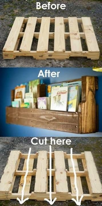 30 wooden pallet craft projects! - Handy DIY
