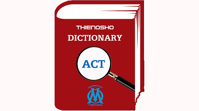 OSHOMEDITATION DICTIONARY - Act