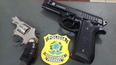 PRF prende quadrilha que assaltava pedestres e caminhoneiros na BR-116