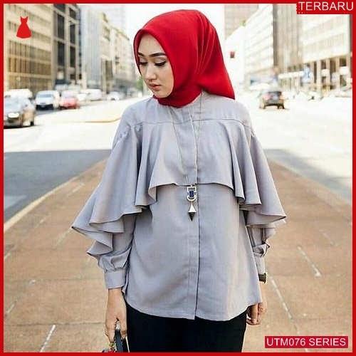 UTM076D77 Baju Dewi Muslim Blouse UTM076D77 04C | Terbaru BMGShop