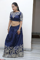 Ruchi Pandey in Blue Embrodiery Choli ghagra at Idem Deyyam music launch ~ Celebrities Exclusive Galleries 027.JPG
