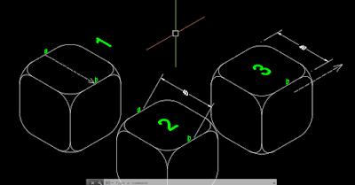 cara setting dimensi Isometry di Autocad