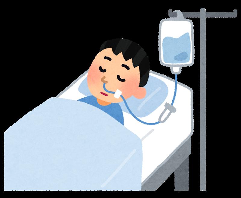図:経鼻栄養