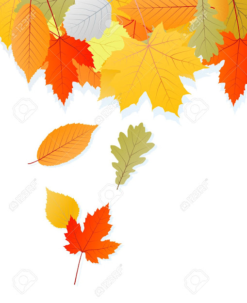 Leaves Autumn Vector Background For Poster Stock Vector