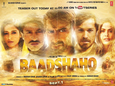 Baadshaho 2017 Hindi Official Trailer 720p HD