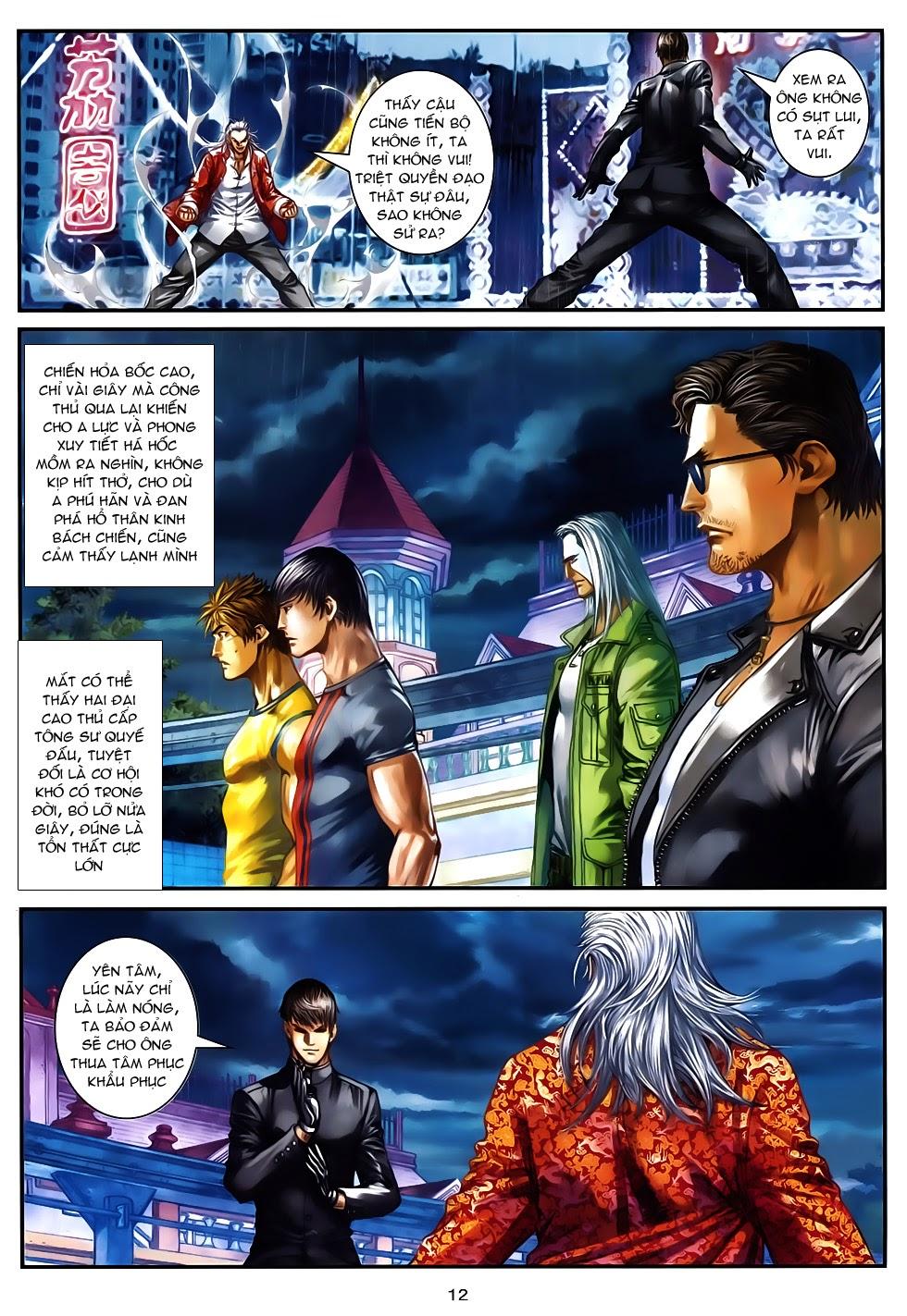 Quyền Đạo chapter 12 - end trang 12