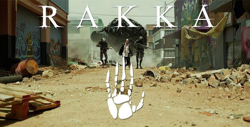 Affiche du court métrage Rakka de Neill Blomkamp