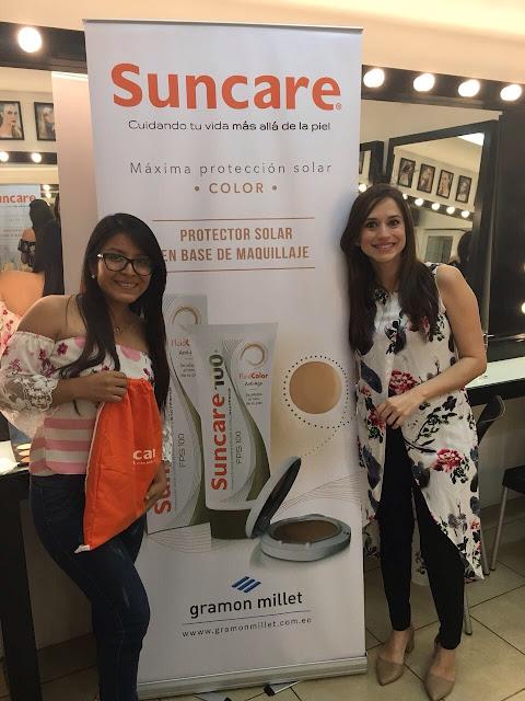 Andrea Navarrete dictó taller de belleza y salud de la piel con el apoyo de Suncare Color