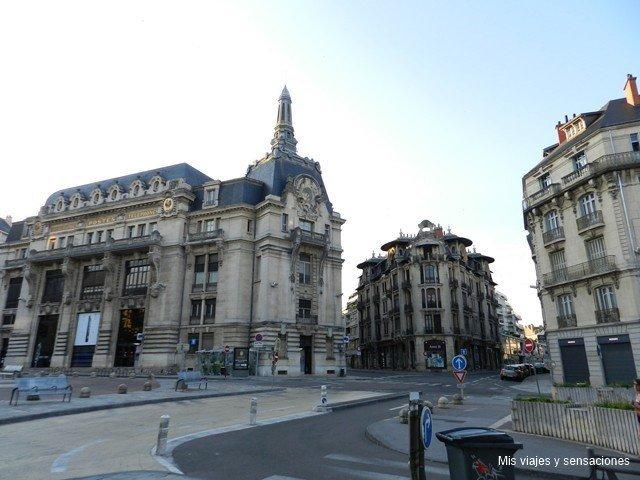 Plaza de Grangier, Dijon, Borgoña, Francia