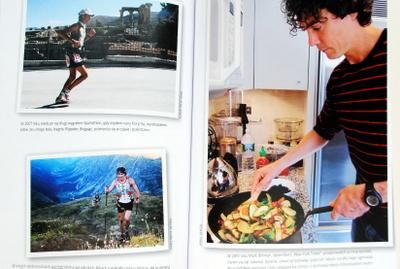 """Scott Jurek """"w biegu"""" i w kuchni"""