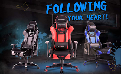 GTRACING Gaming Chair Racing Video Game Chair