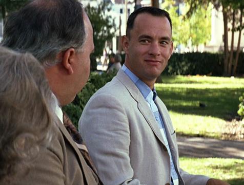 Forrest Gump (Tom Hanks) - Cine de Escritor