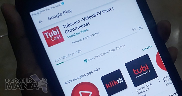Download aplikasi tubicast for android