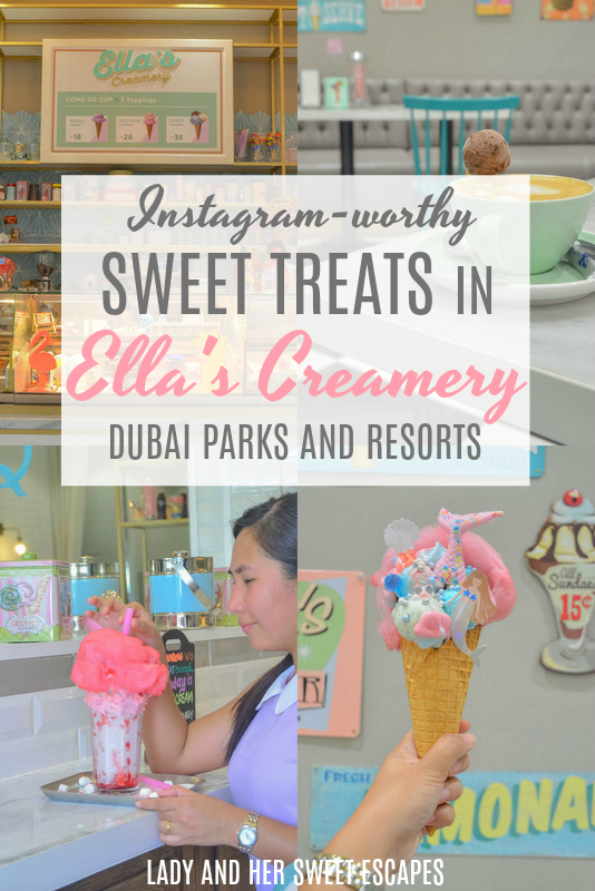 Instagram Worthy desserts in Dubai pinterest