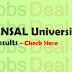 ANSAL University Result 2017 BBA, B.Tech, B.Com, BA, MBA, B.Sc, LLB