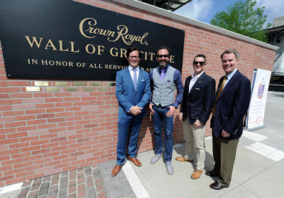 Graham Rahal and Crown Royal Honor Military Members