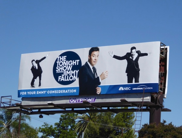 Jimmy Fallon 2017 Emmy FYC billboard