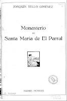 De Madrid al Monasterio de Santa María de El Parral