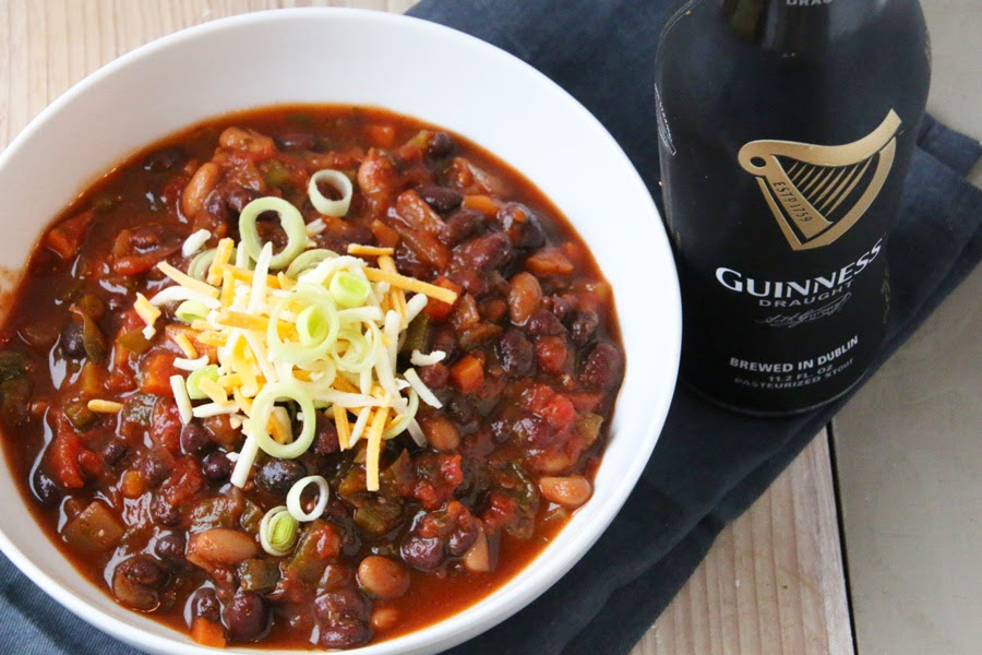 Vegetarian Guinness Chili