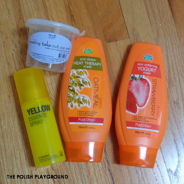 January 2016 Product Empties