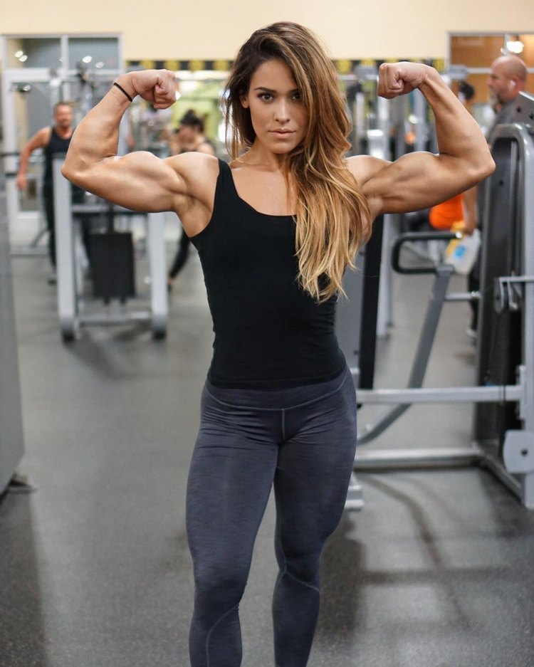 Fitness Models with Muscle - Cassandra Martin
