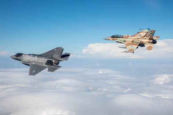 "FIRST ""ADIR"" (F-35I) FLIGHT IN ISRAEL"