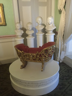 Kensington Palace gold cradle