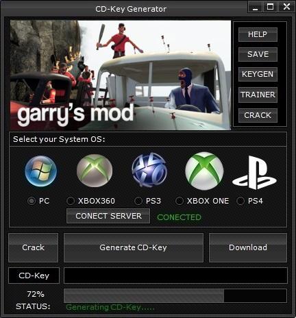 Garry's Mod CD Key Generator (Free CD Key) ~ Simulator Expert