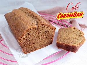 Cake aux Carambars facile