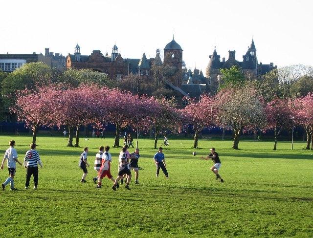Что посмотреть в Эдинбурге бесплатно: Парк Мидоус